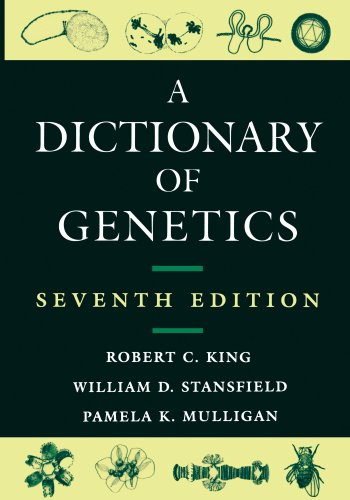 Book Cover A Dictionary of Genetics