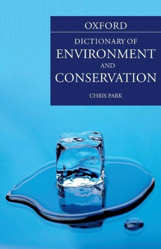 Book Cover A Dictionary of Environment and Conservation