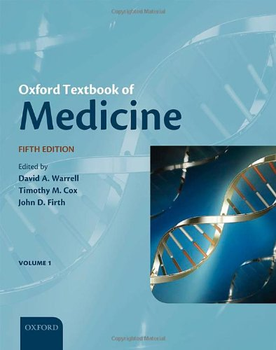 Book Cover Oxford Textbook of Medicine (Warrell, Oxford Textbook of Medicine)(3-Volume Set)