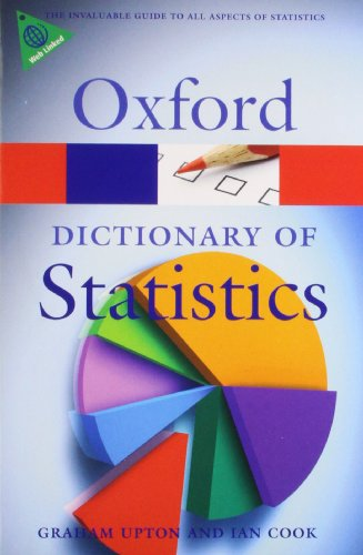 Book Cover A Dictionary of Statistics (Oxford Quick Reference)