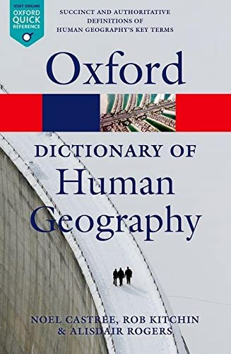 Book Cover A Dictionary of Human Geography (Oxford Quick Reference)