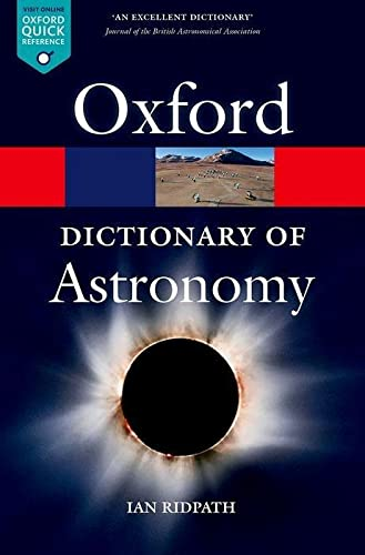 Book Cover A Dictionary of Astronomy (Oxford Quick Reference)