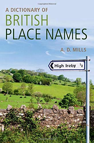 Book Cover A Dictionary of British Place-Names (Oxford Quick Reference)