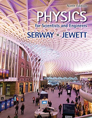 Book Cover Physics for Scientists and Engineers