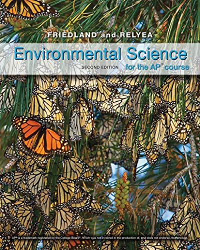Book Cover Environmental Science for AP*
