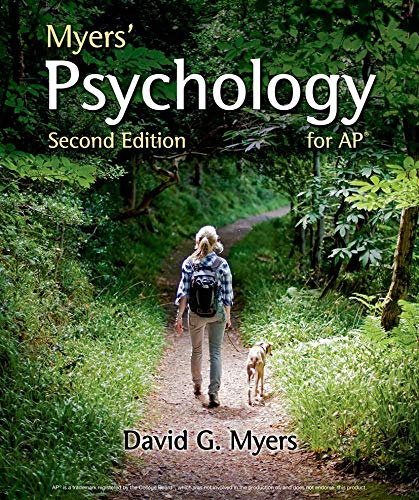 Book Cover Myers' Psychology for AP