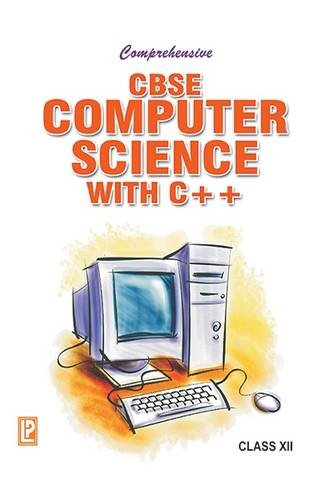 Book Cover Comprehensive Cbse Computer Science with C++ XII