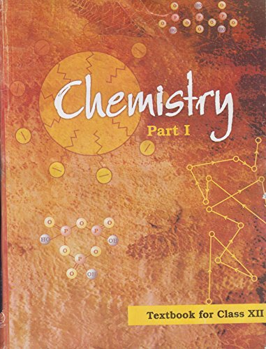 Book Cover Chemistry Textbook Part - 1 for Class - 12 - 12085