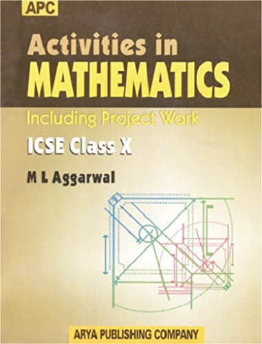 Book Cover Activities in Mathematics ICSE (Including Projects) Class- X