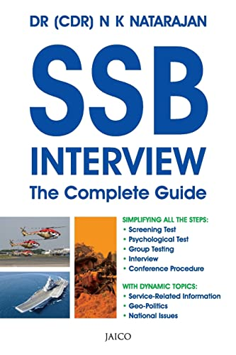 Book Cover SSB Interview: The Complete Guide
