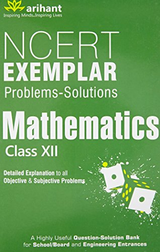 Book Cover NCERT Exemplar Problems: Solutions Mathematics class 12th
